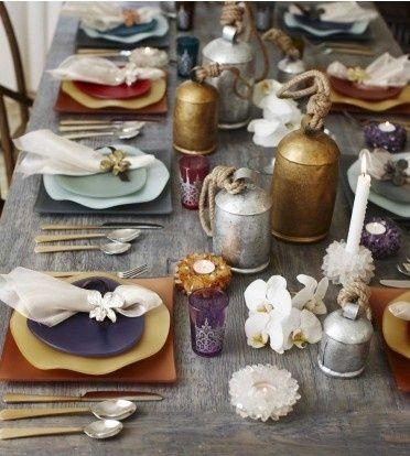 Table Setting By Jokolyn Moroccan Minimal Flowers