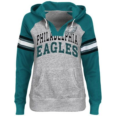 8bdc6b8a7 Do you have standout  Eagles style  Show it off in the Women s Huddle  Hoodie Sweatshirt  54.99
