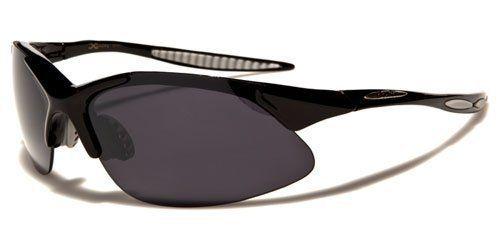X-Loop Sportbrille Unisex Damen Herren Sonnenbrille Metall Kunststoffbügel Farbe