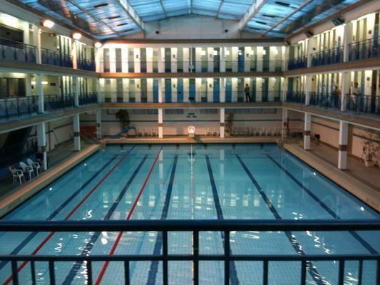 Piscine Pontoise A Beautiful Swimming Pool In Paris 5e Paris