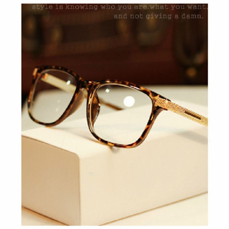 42d6e4a17dff Eyeglass Frames Retro Men Women clear Designer Eyewear Frame Optical Eye  Glasses Frame armacao para Oculos