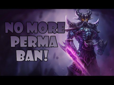 How To Get Permanently Banned From League Of Legends
