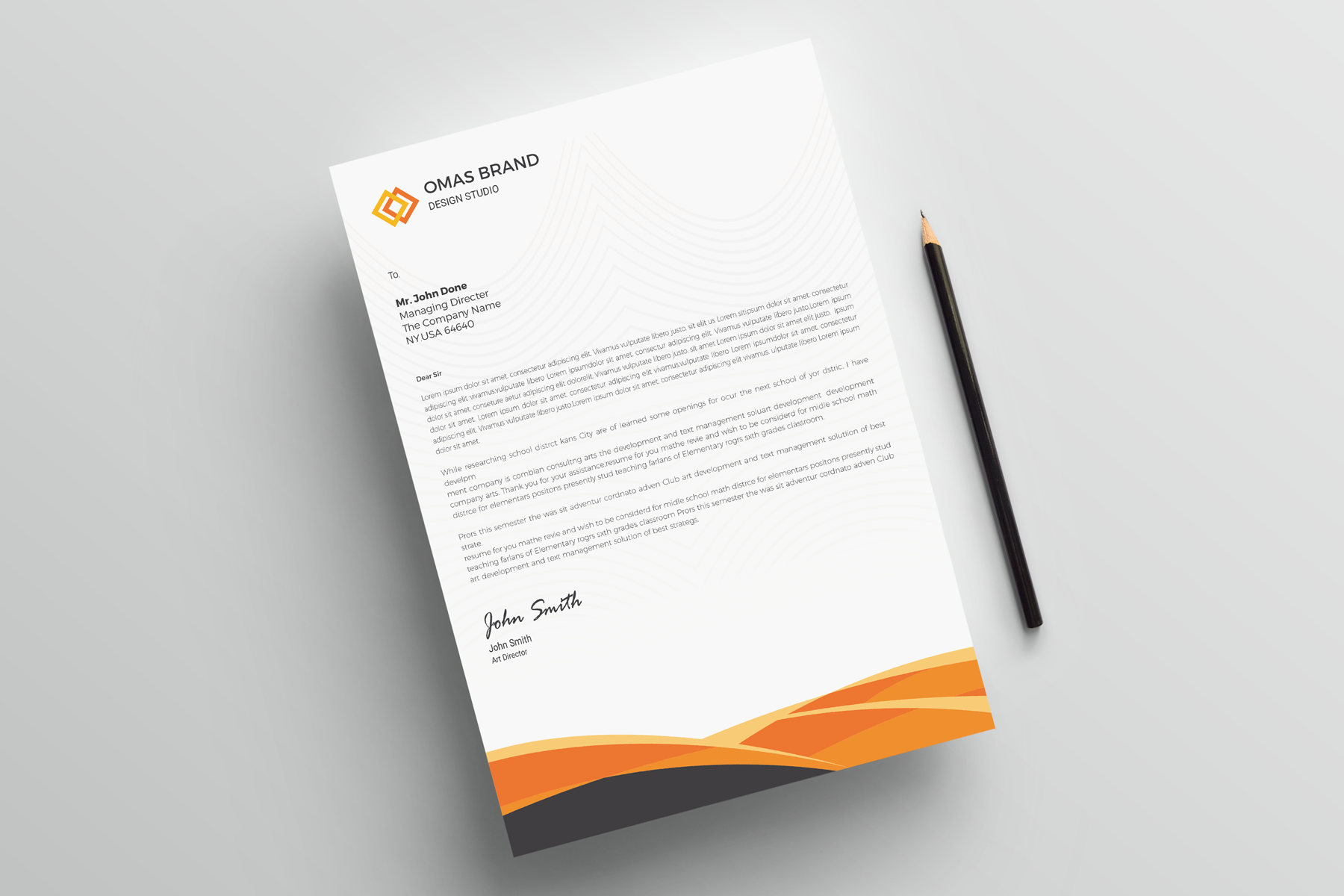 curves letterhead corporate identity template 77795 handyman resume pdf lead sales associate job description good application letter for employment