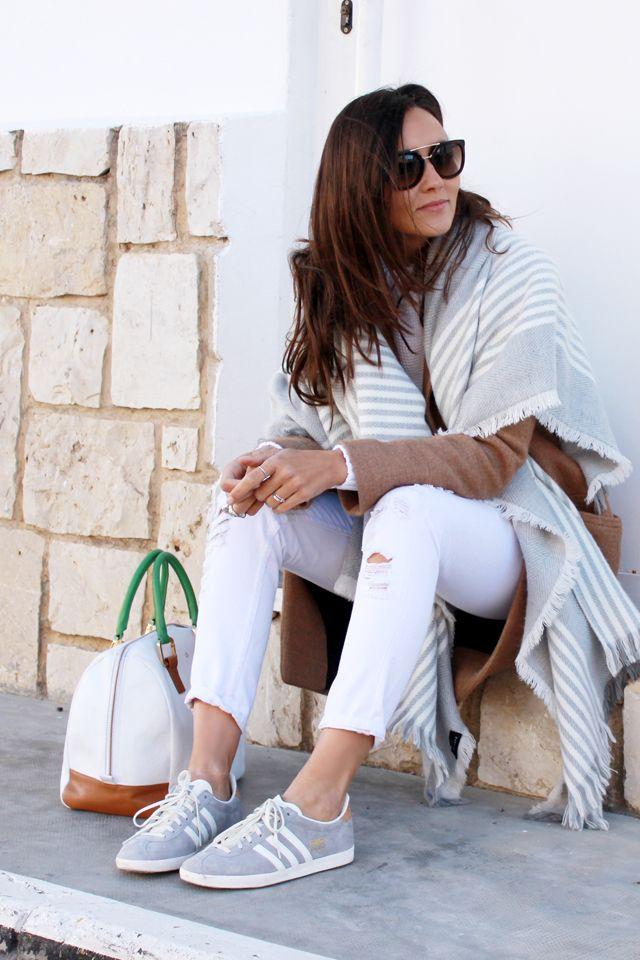 playeras adidas gazelle gris