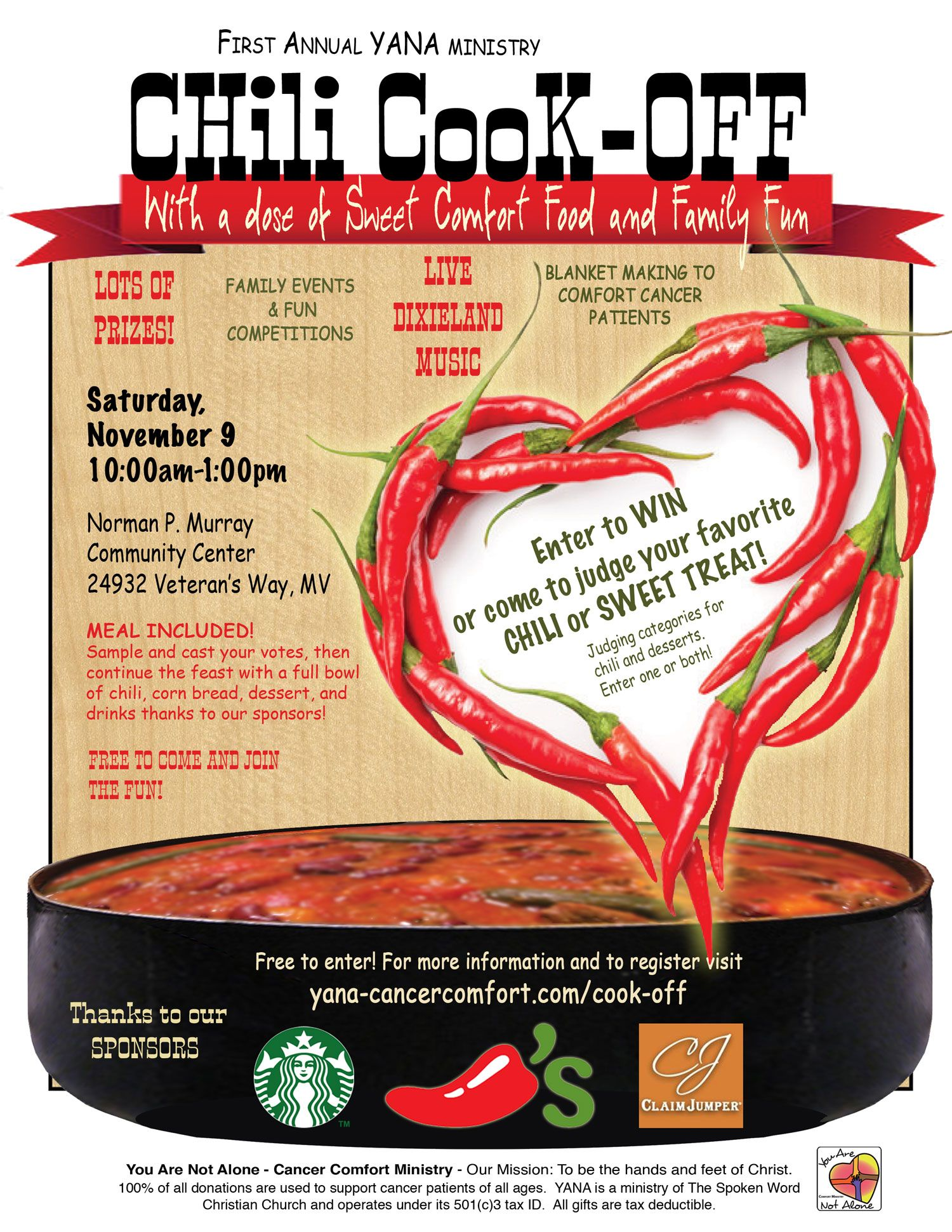 chili cook off fundraiser - Google Search | Chili Cook Off | Pinterest