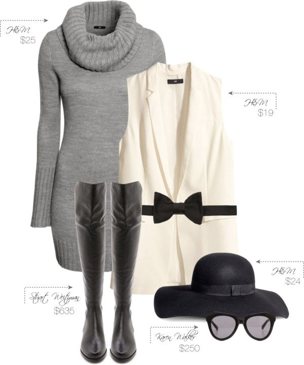 MariaOnPoint | Trendy Thursday: Sweater + Vest