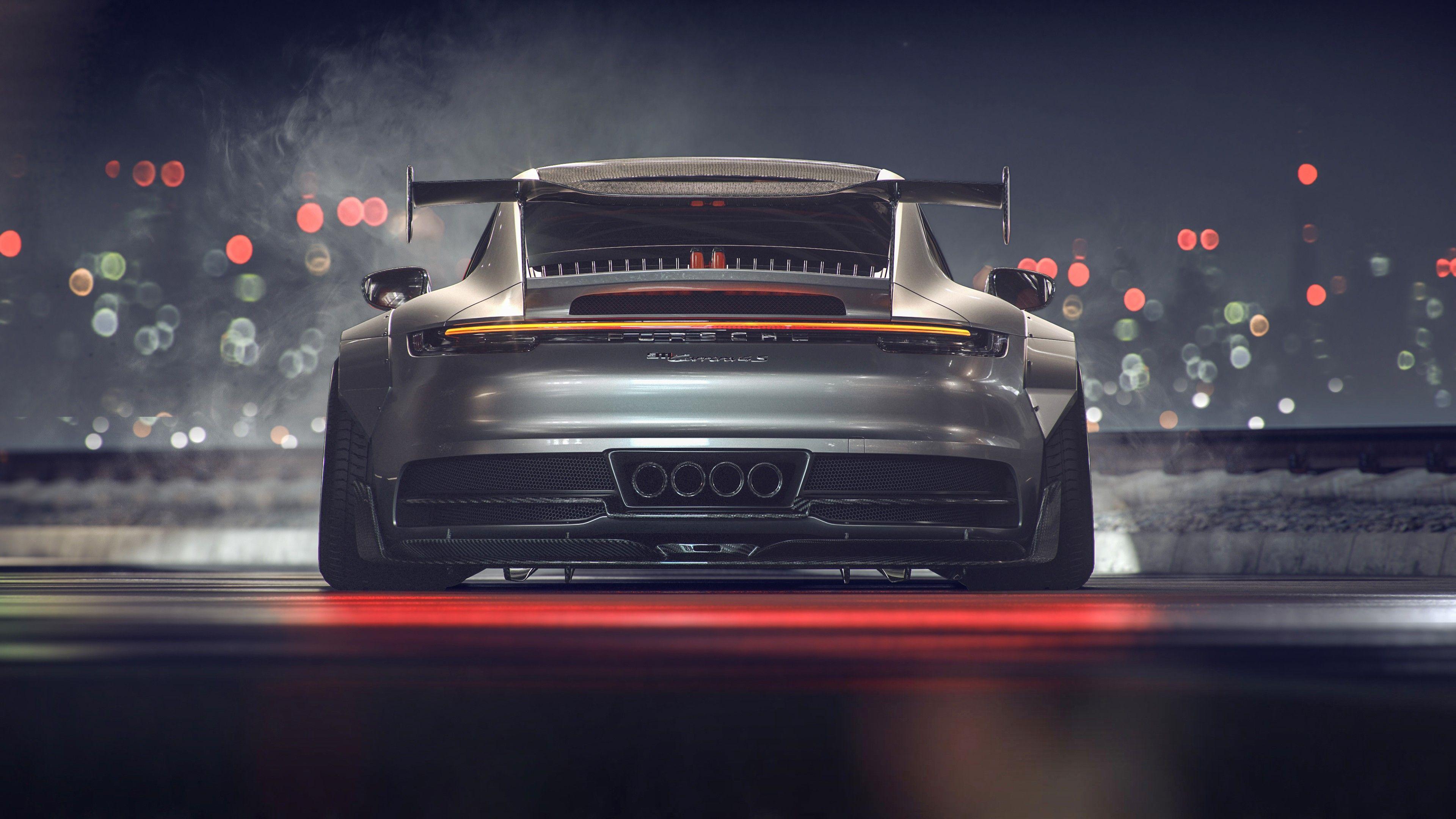 Das Auto HD Wallpaper Hintergrund Bild Porsche Spitzen