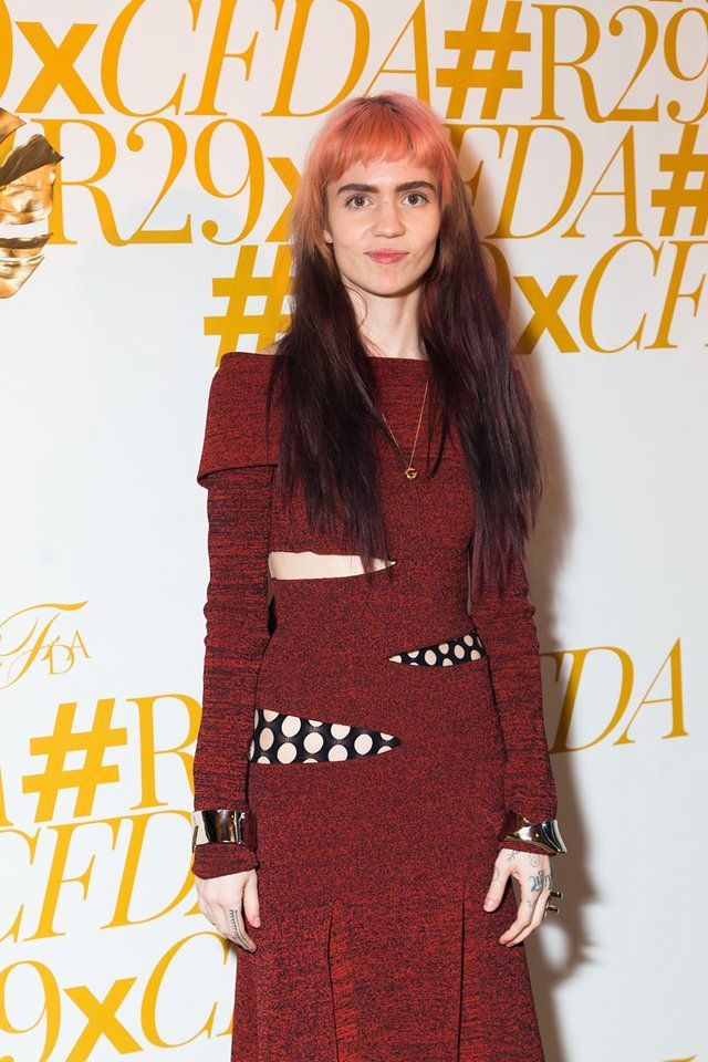 cfda awards after party Grimes