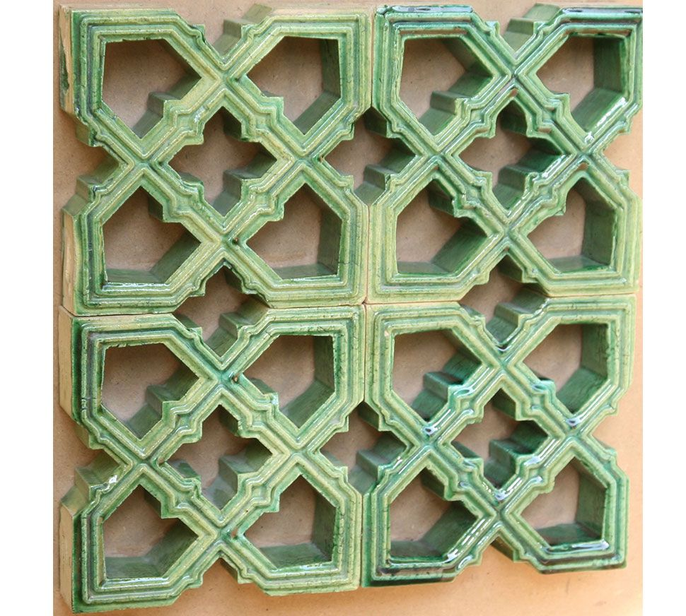 Decorative Tiles For Wall Jali Series  Glazed And Decorated Tiles  Wall Tiles  Colourful