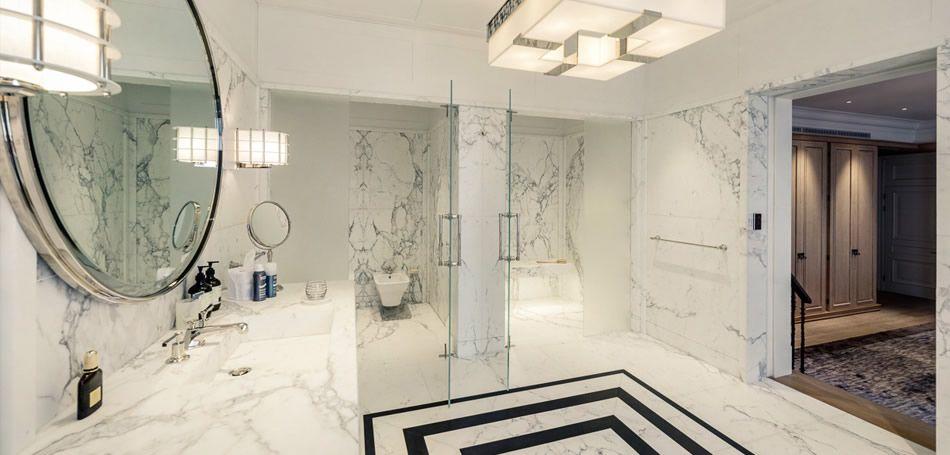 Luxury Marble Bathrooms livra Мрамор и специалисты по установке Камень для ванной | 7