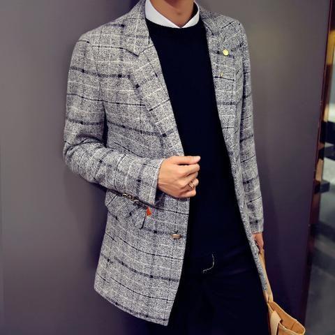 Wool Coat (4 Colors) #TakeClothe #Mensfashion #Fashion #Streetstyle #Jackets #Coats