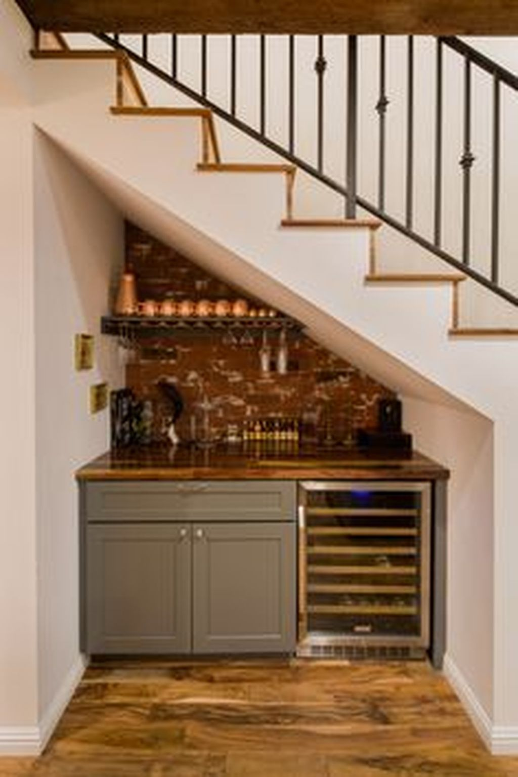 Pin By Trend4homy On Trending Decoration In 2019: Basement Stairs, Bar Under Stairs, Bars For Home