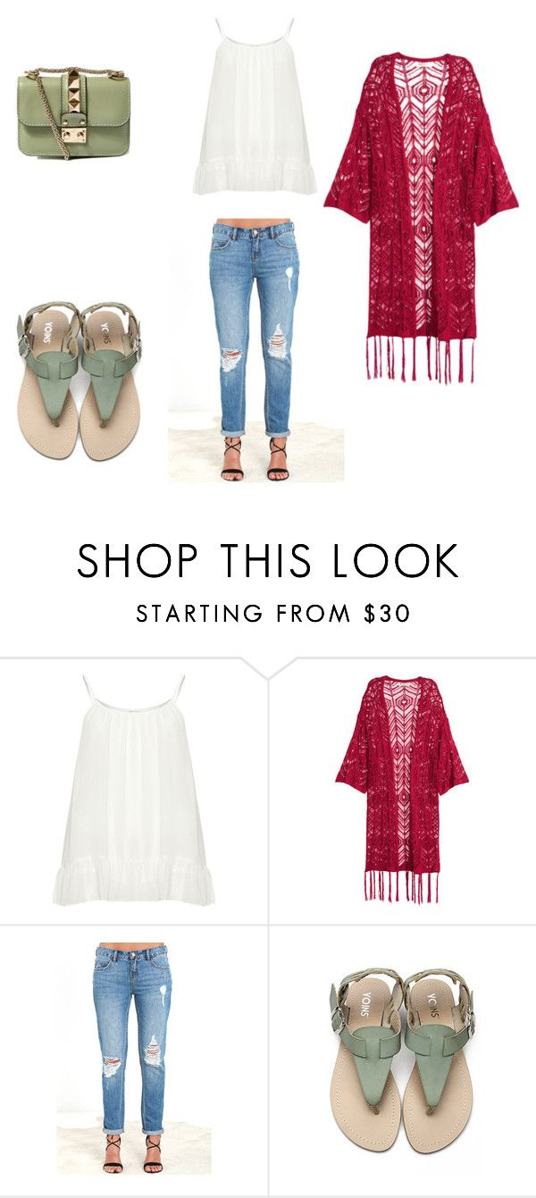 """""""Sin título #43"""" by valeriact on Polyvore featuring moda, Zizzi, Billabong y Valentino"""