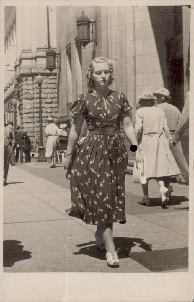 Street Fashion, East Vancouver, 1936.