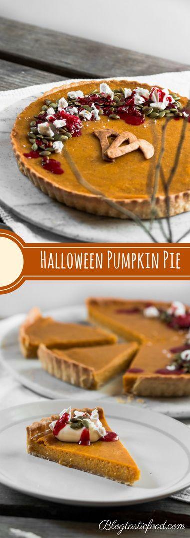 Homemade Pumpkin Pie From Scratch - Blogtastic Food