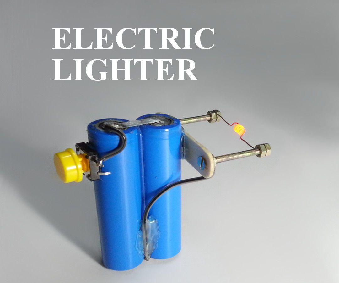 DIY - Homemade Electric Lighter | Electronics | Lighter, Diy