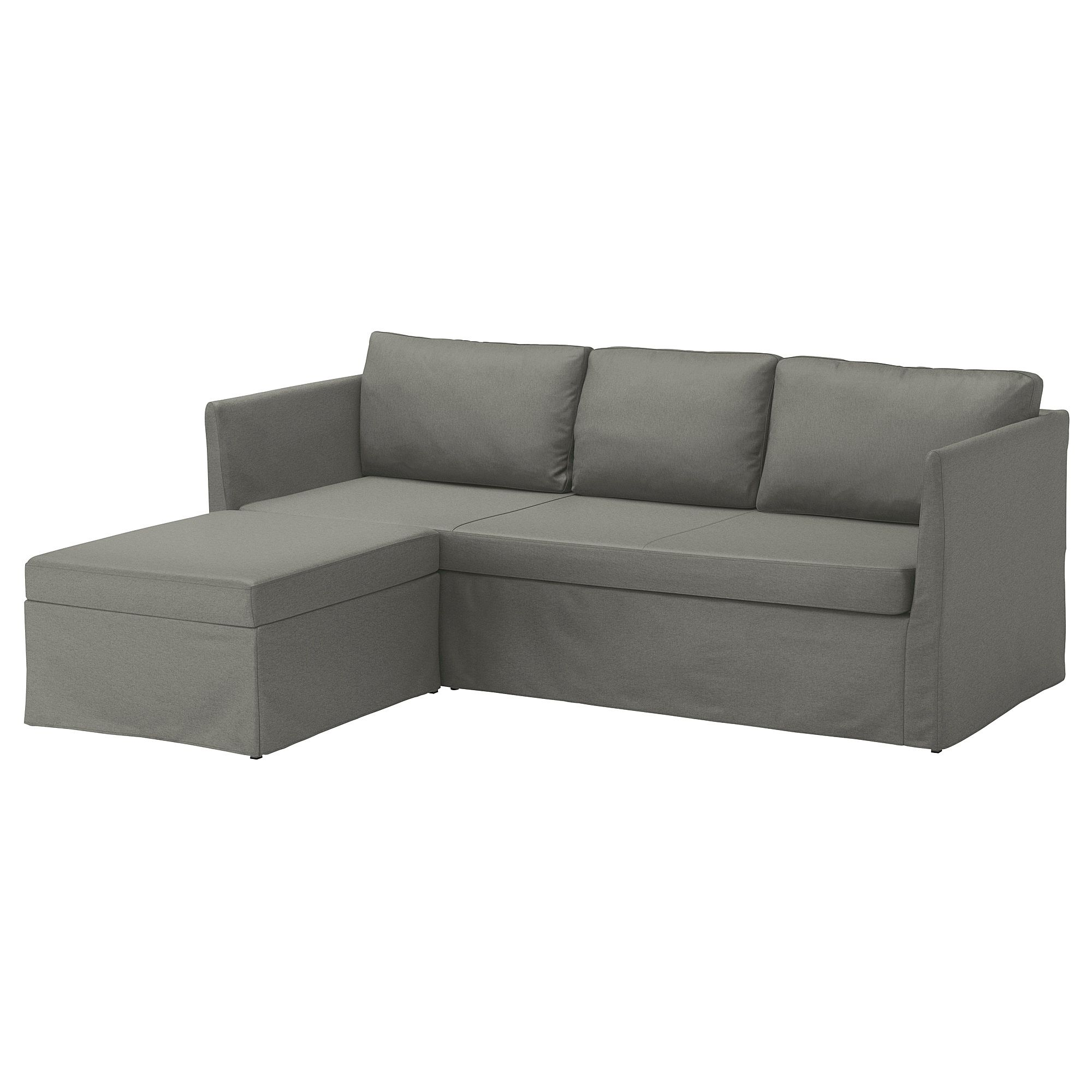 IKEA BRTHULT Cover for 3 seat corner sectional Borred gray green