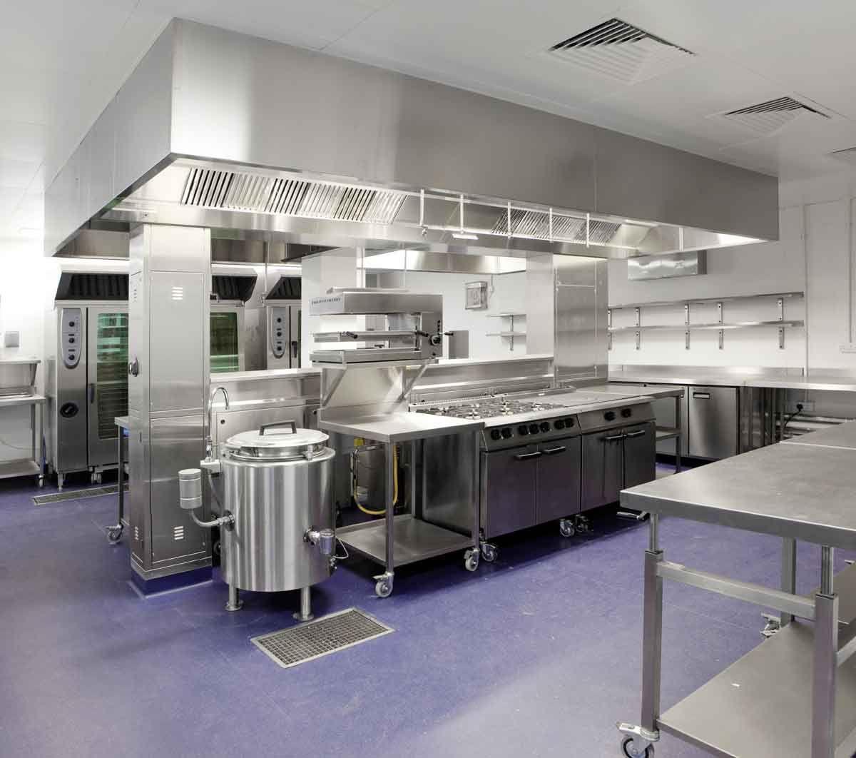 Stainless Steel Commercial Kitchen - zitzat.com | Restaurant ...