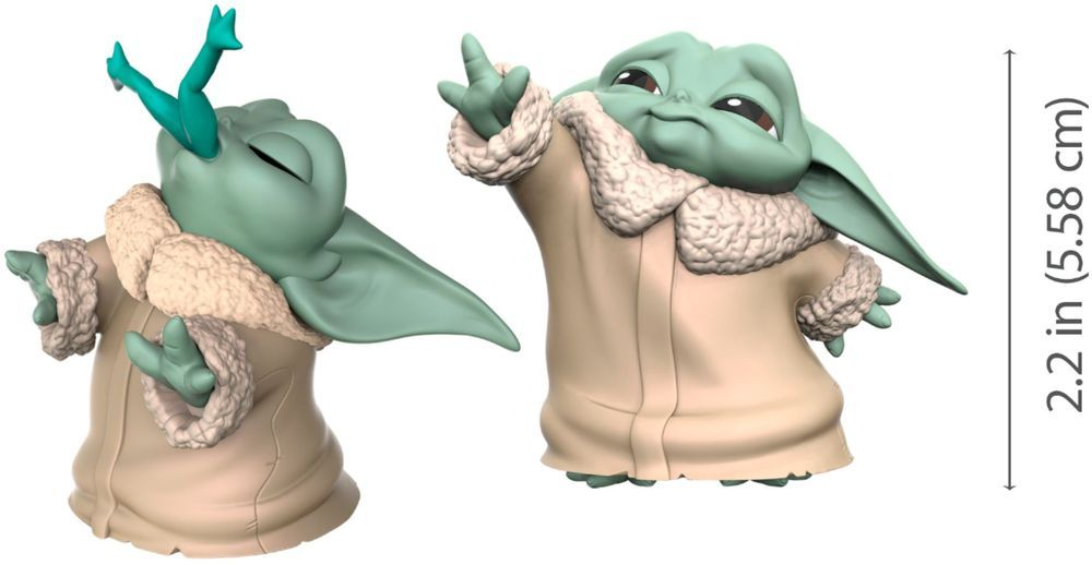 Star Wars The Bounty Collection The Child Froggy Snack And Force Moment Figures 2 Count F1254 Best Buy Star Wars Collection Mandalorian Star Wars