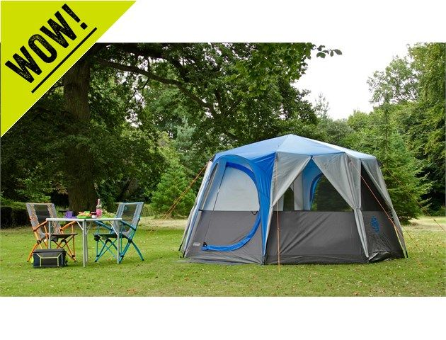 Coleman Cortes Octagon 8 - Make your camping trip more of a glamping experience.