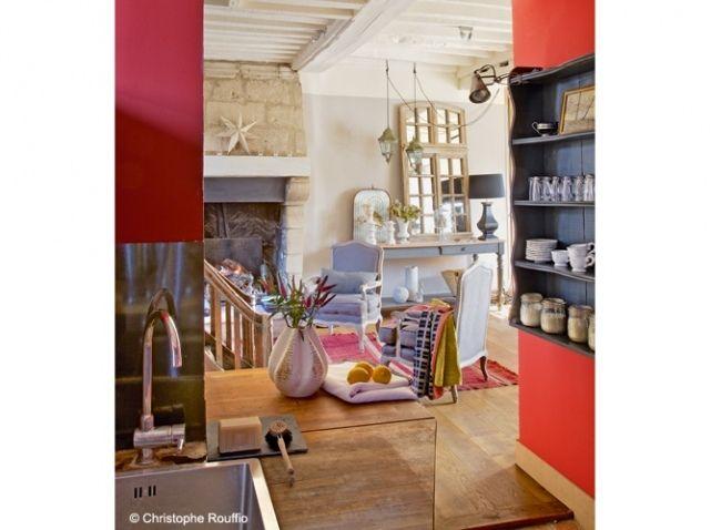 Cuisine ouverte sur salon Ranskalaisia Pinterest - cuisine ouverte sur salon m