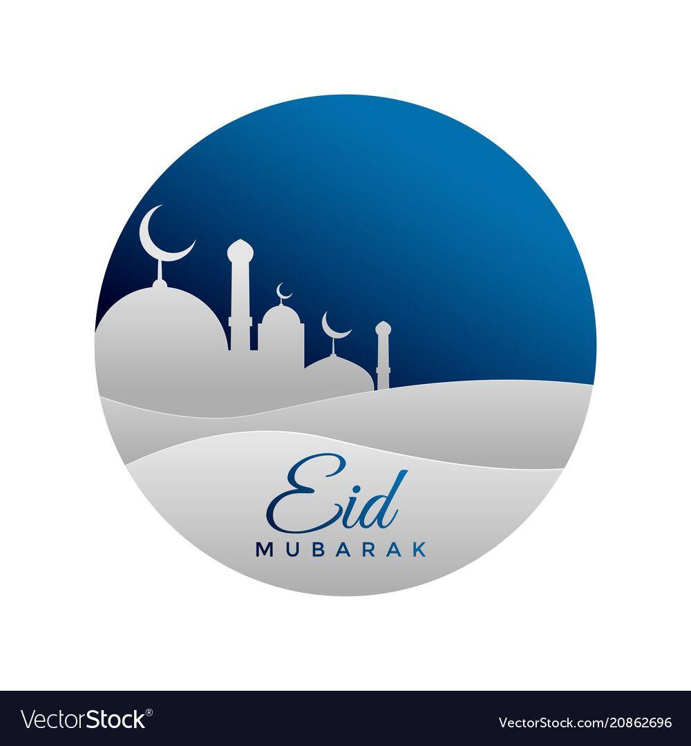 Eid Mubarak Muslim Festival Background Download A Free Preview Or High Quality Adobe Illustrator Ai Eps Pdf Eid Mubarak Festival Background Muslim Festivals
