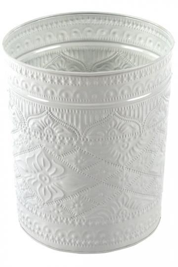 Beau Sarah Wastecan   Small Metal Trash Can   Decorative Trash Cans   Office Trash  Cans   Recycle Bin | HomeDecorators.com