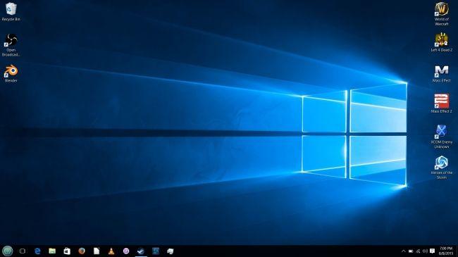 A Linux User S Review Of Microsoft Windows 10 Phoronix Window Installation Windows 10 Pop Up Screens