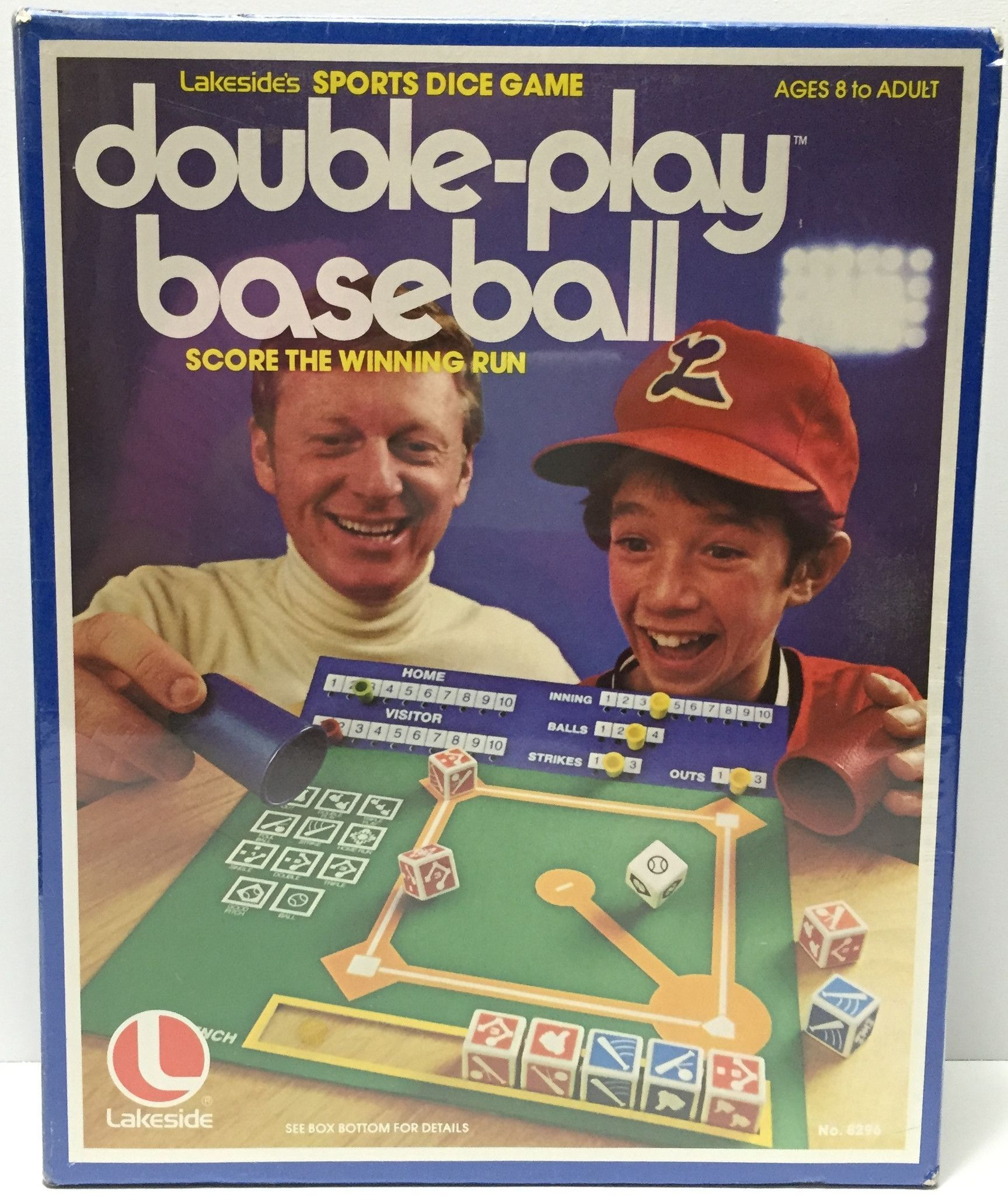 (TAS034907) 1979 Lakeside's Sports Dice Game DoublePlay