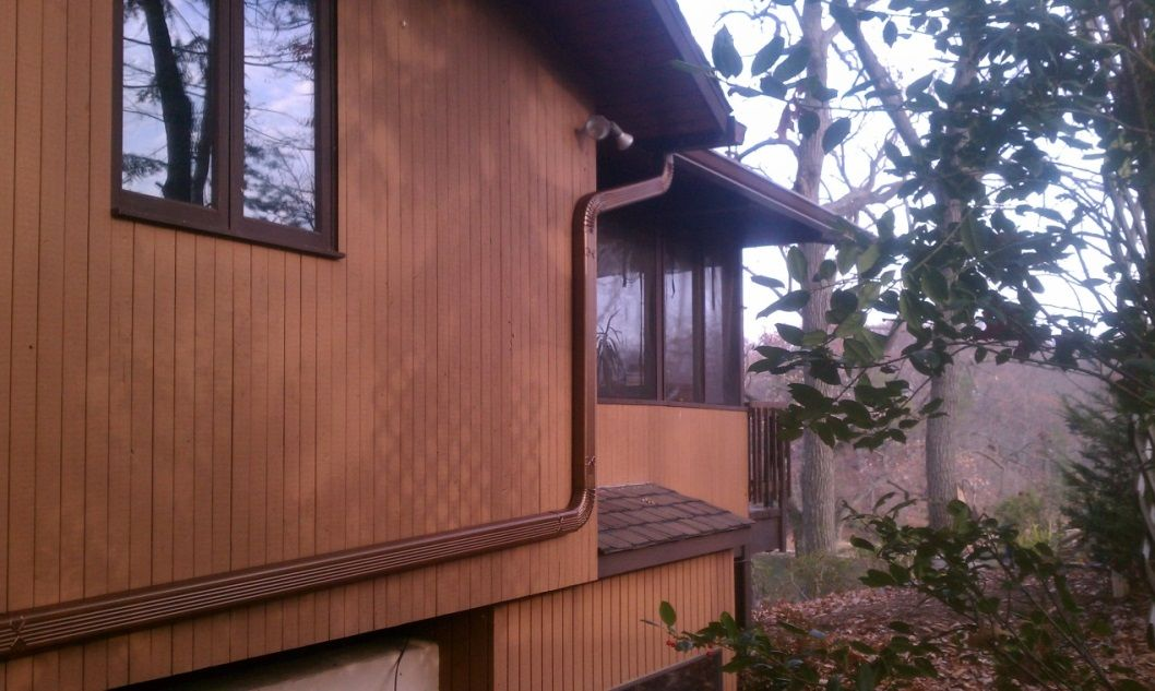 how to install rain gutters on a shed