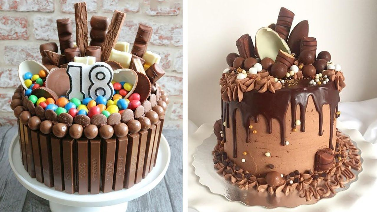 32+ Pretty Picture of Chocolate Birthday Cake | Easy ...