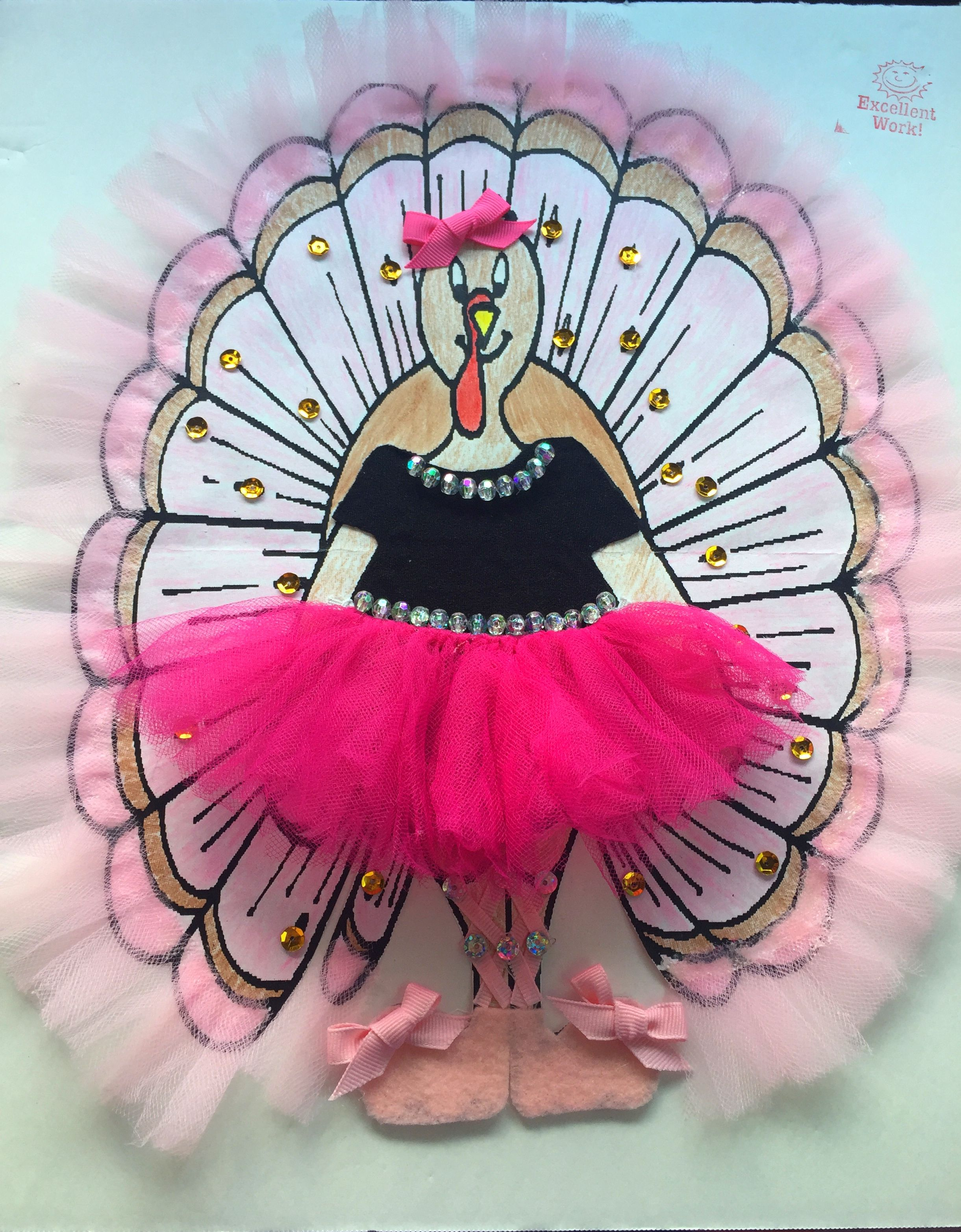 Ballerina Turkey Disguise Project Turkey Disguise Project