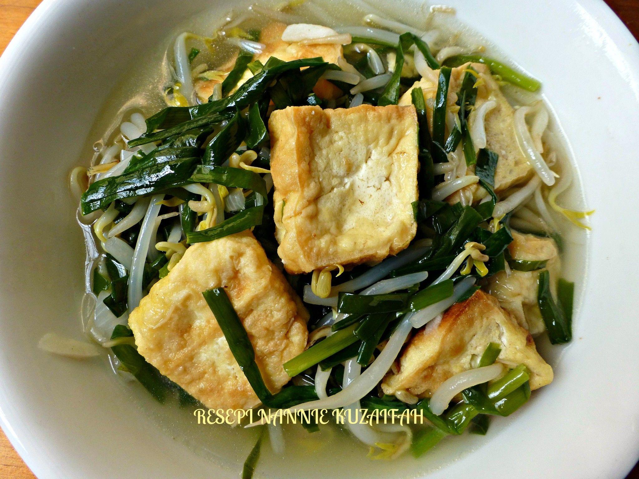 resipi sayur campur chinese style resepi bergambar Resepi Sup Makaroni Azie Kitchen Enak dan Mudah