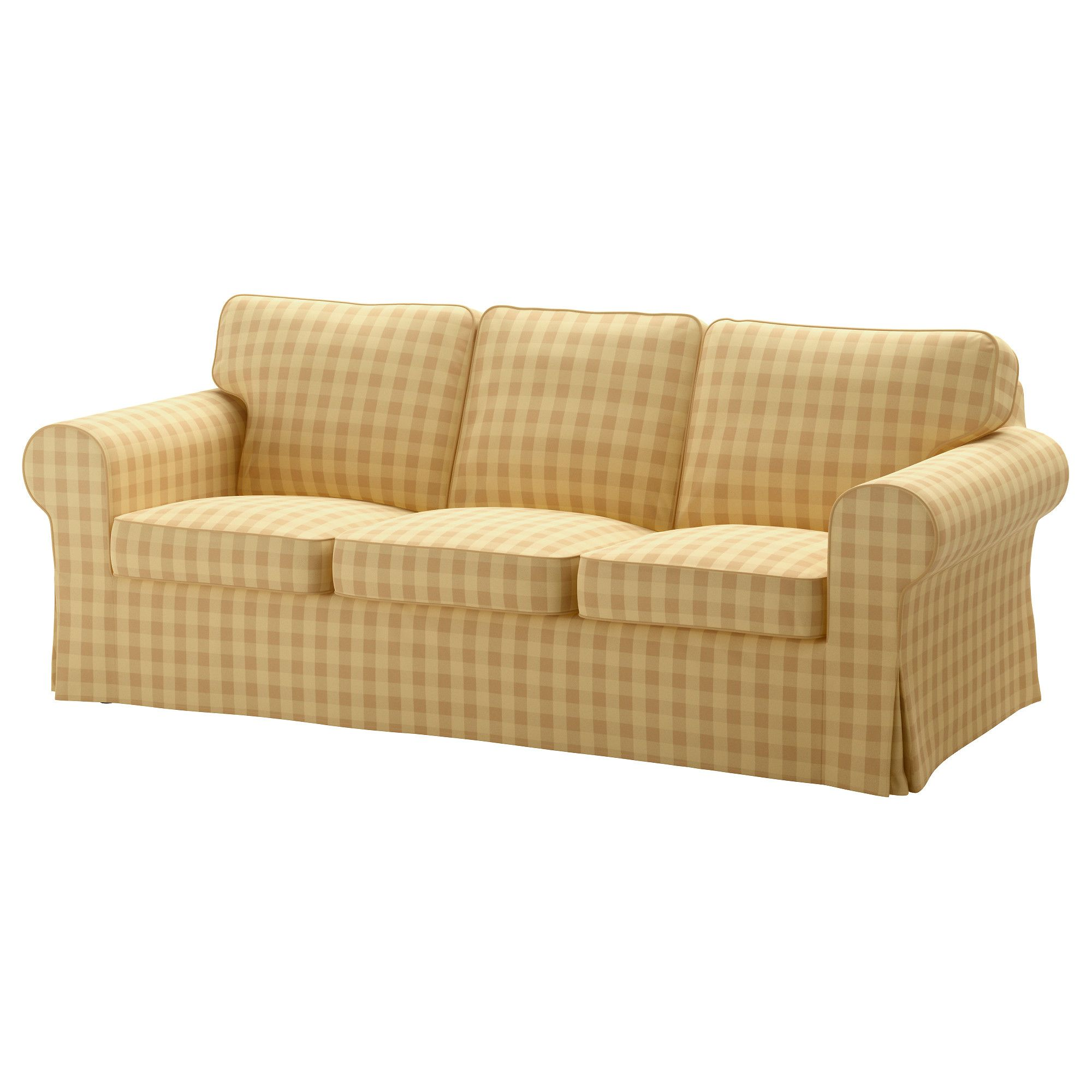 Slaapbank Ektorp Sofa Cover Ektorp Skaftarp Yellow Favorite Upholstered Furniture