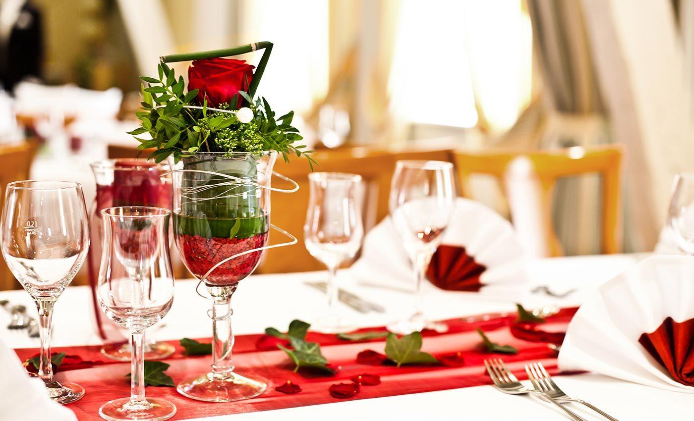 Tischdeko In Rot tischdeko rot creme mustertisch