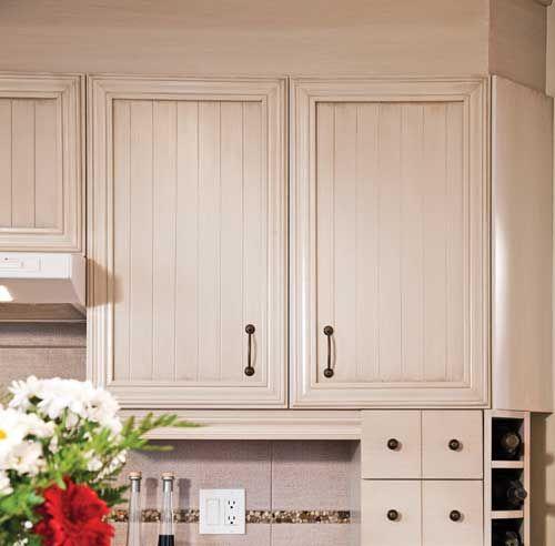 10 options pour revamper vos armoires cuisines pinterest armoire kitchen cupboards et - Revamper armoire melamine ...