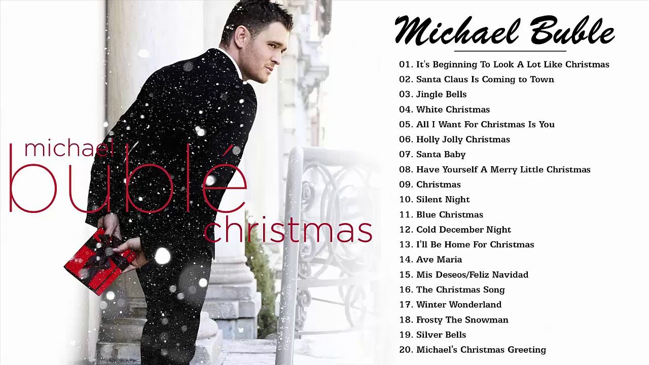 Michael Buble The Christmas Songs Album Merry