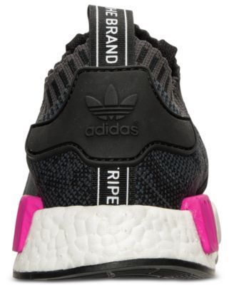 67e0b1f77400e adidas Women s Nmd XR1 Primeknit Casual Sneakers from Finish Line - Black  8.5