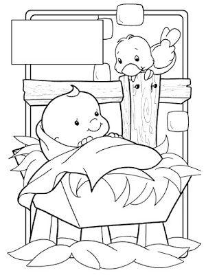 PARA COLOREAR: Dibujos navideños | nacimientos de navidad ...