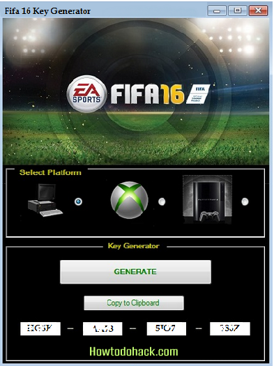 fifa 16 origin activation code
