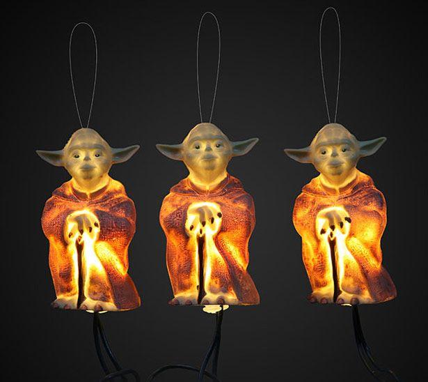 Luces de Yoda y R2D2 para el rbol de navidad Geek Pinterest