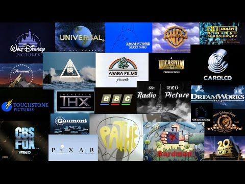 Movie Studio Logo Animation Compilation Youtube Movie Intro Film Companies Film Company Logo