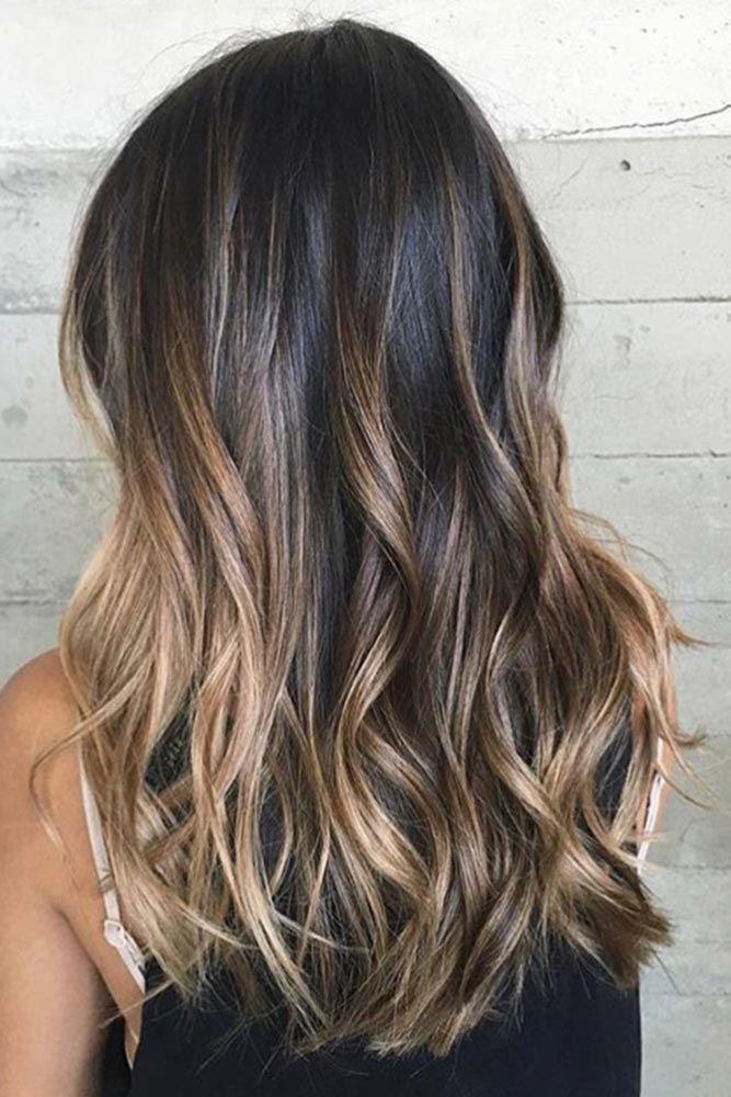 43 hottest brown ombre hair ideas makeup hair tips pinterest couleur cheveux cheveux et. Black Bedroom Furniture Sets. Home Design Ideas