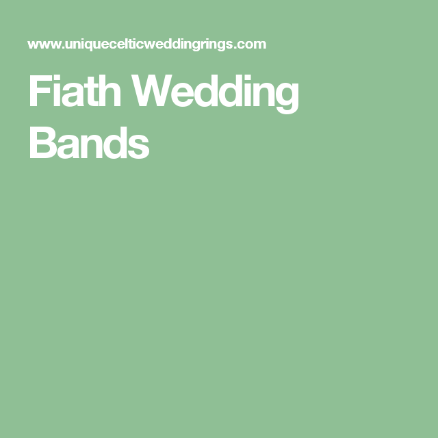 Fiath Wedding Bands