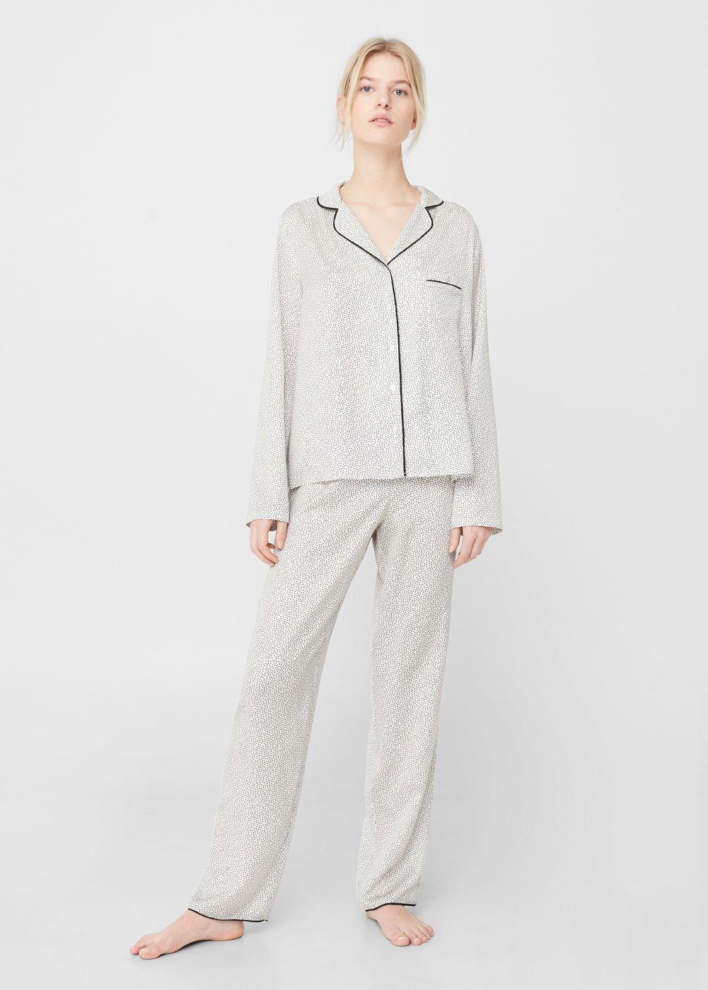 Pyjamas Et Chemises De Nuit Pour Femme Mango France