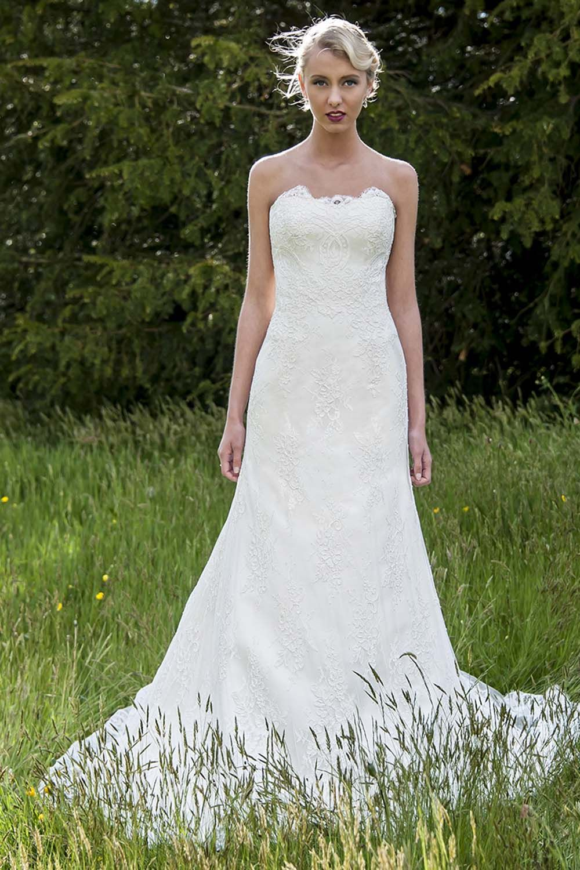Jocelyn wedding gown, lace wedding gown, Augusta Jones   Wedding ...