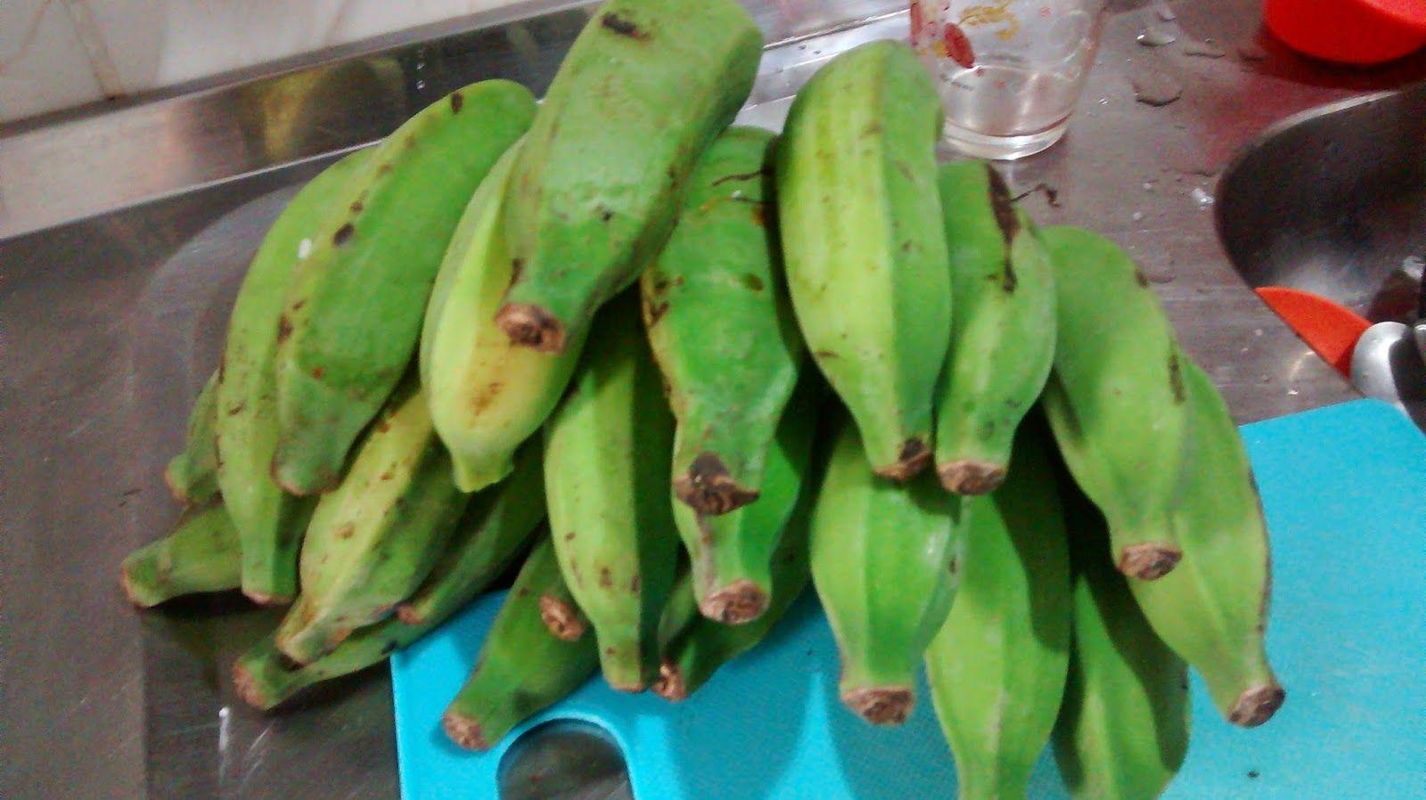 Vida Saudável: Biomassa de banana verde