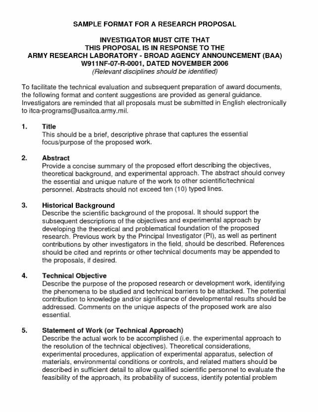 Research Proposal Template Research Proposal Proposal Templates