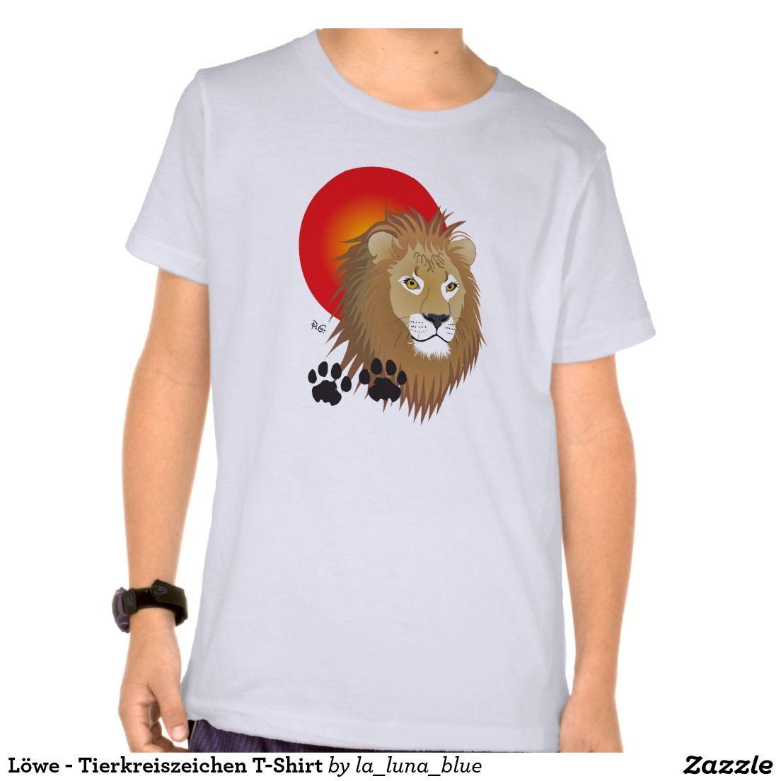 Löwe - Tierkreiszeichen T-Shirt