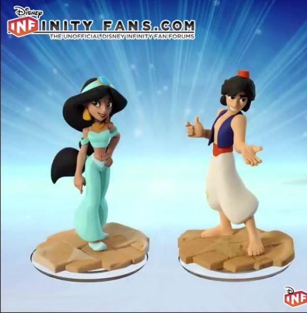 Disney Infinity 2.0 Revealed Aladdin & Jasmine Will Be